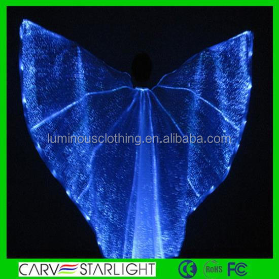 light up belly dance costume stage dance without dress isis wings YQ-59