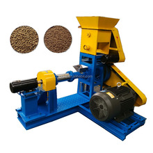 Animal Feed Mill Floating Fish Feed Pellet Machine