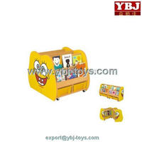 lovely cartoon books storage kids room cabinets
