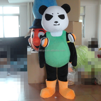 new panda mascot costume/lovely mascot costume for sale