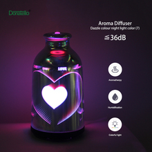 New designed essential oil Cool Bottle Mist Air Aroma Humidifier LED Night light Lamp Diffuser