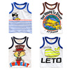 2017 New Product Wholesale Kid Boy's Animal Printing Fashion Cotton Vest