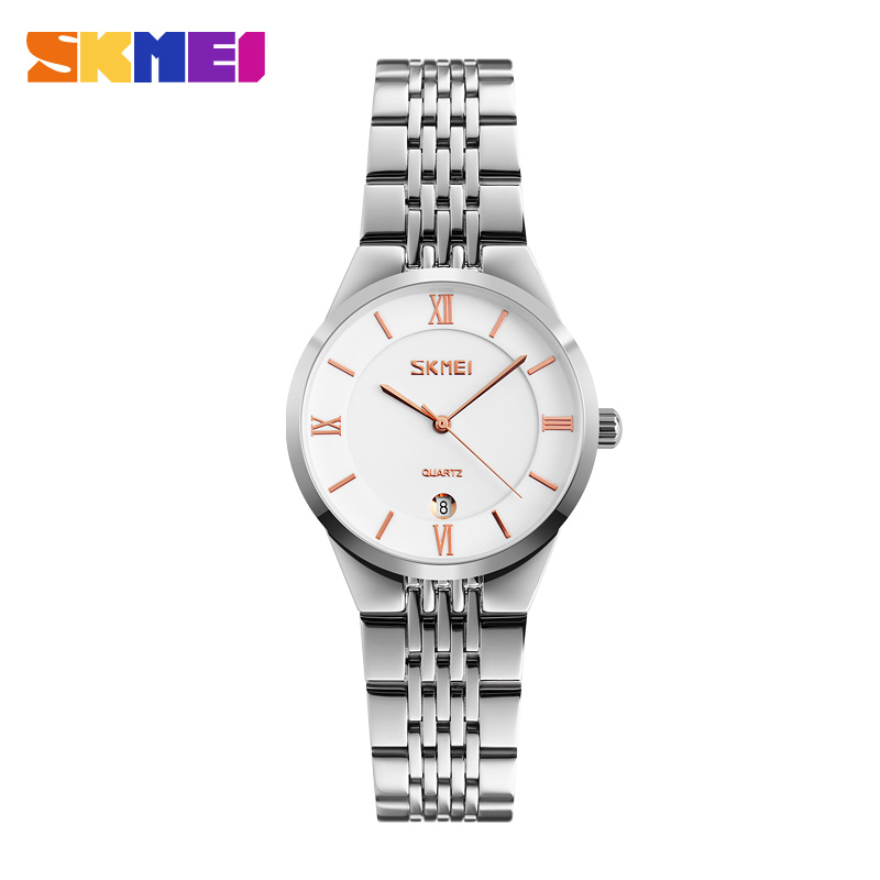 original skmei factory good quality high grade s lady quality watch date,woman quartz watch