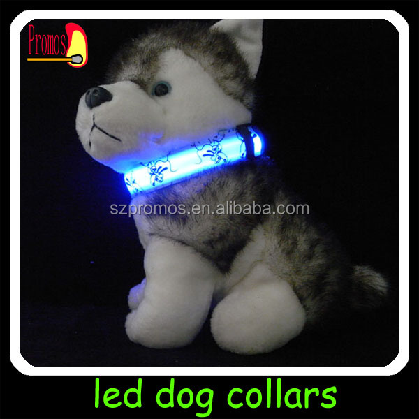 2014 new led dog collar leashes/led collars for dogs dog sex/led collar dog