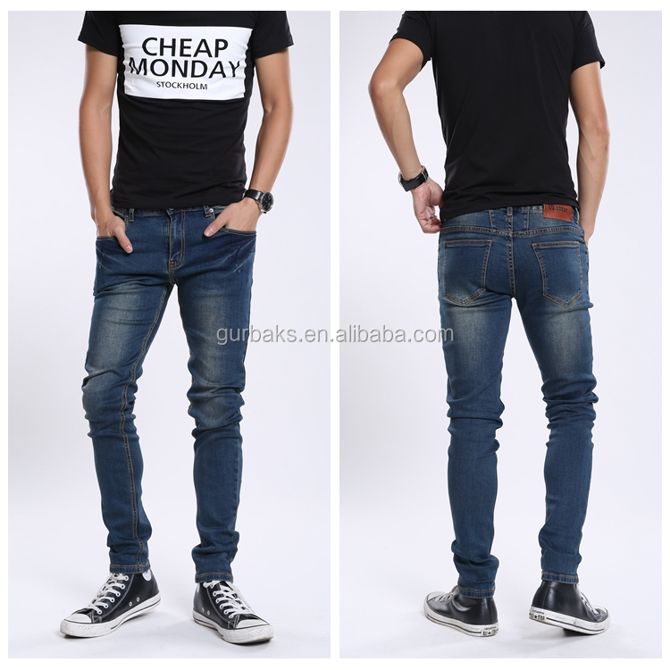 Slim Fit Denim Jeans Pent New Style