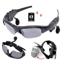 Popular Applicable to all cellphones with bluetooth , bluetooth music micro sunglass with fashion design