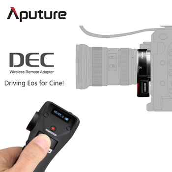 Aputure DEC multifunctional 2.4G wireless remote adapter for Canon EF-mount or EF-S mount lenses to E-mount cameras