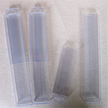 transparent pvc material plastic telescopic box packing