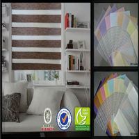 100% polyester roller window blinds for modern curtain and electric curtain