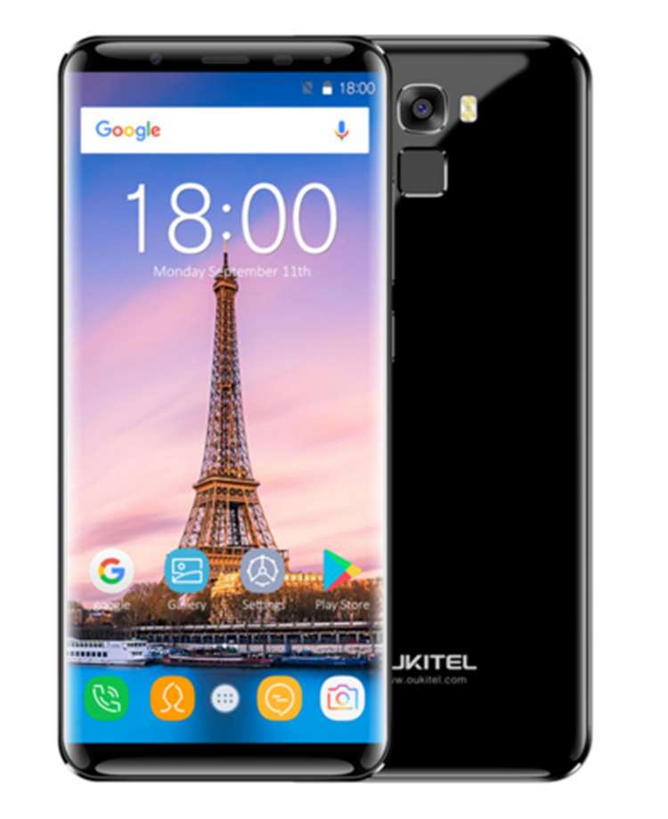 Oukitel K5000 <strong>18</strong>:9 Infinity Display 4G RAM 64G ROM MT6750V Octa Core 5.7'' 5000mAh Fast Charge Fingerprint 4G LTE Mobile Phone