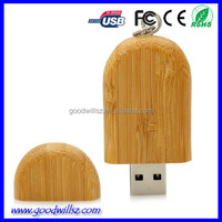 Free sample cheap oem wood usb key wooden usb flash memory