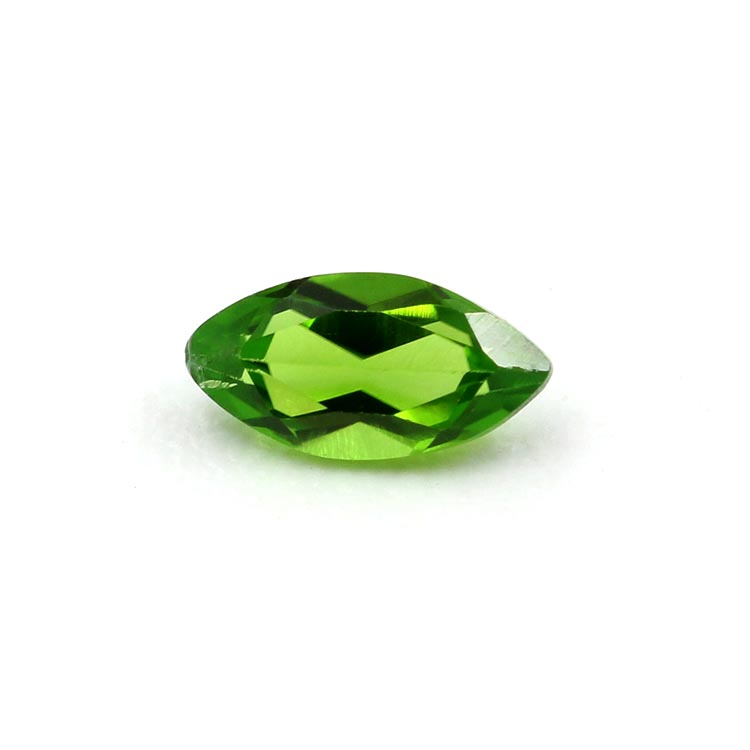 wholesale Marquise shape green natural diopside stone