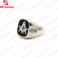 High Quality Hot Sale Casted Designer 316L Stainless Steel Ring