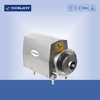 Sanitary stainless steel close impeller centrifugal pump