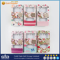 [GGIT] Diamond Colorful Flower Printing Double Window Leather Case for Samsung Core 2 G355h