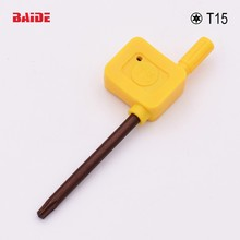 S2 Screwdriver T15 Yellow Flag Torx Key Screwdrivers Spanner Open Tools