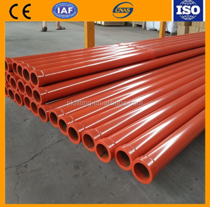 Company Recommended Engineering Transport Seamless Trailer Pump Pipe
