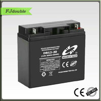 Rechargeable Maintenance free 12v 20ah vrla battery