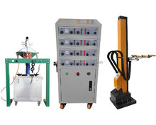 Automatic reciprocators for paint spray gun powder coating