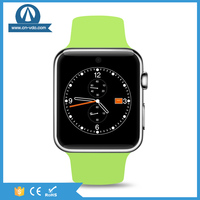 DM09 leather watch strap support sim card mobile watch phones