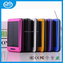 portable solar power bank 10000mah, solar powered cell phone battery charger, 10000mah portable power bank for sony