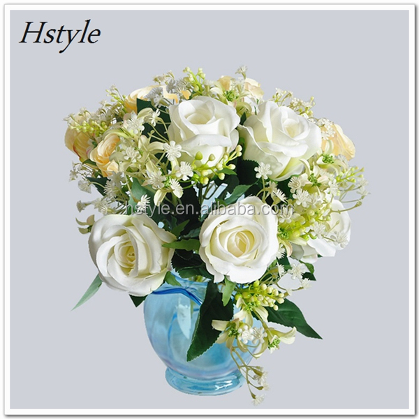 Silk Flower Artificial Vivid Fake Simulation Spring Wedding Home Party Decoration Hyacinth 5 Color Flower Hand-Made FZH128