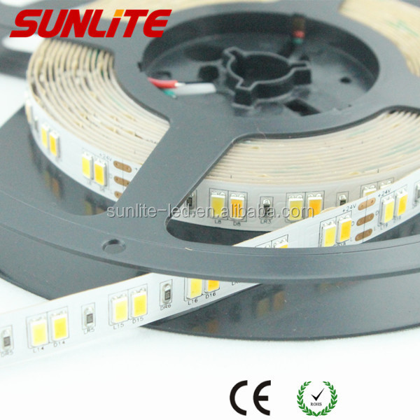 SAMSUNG smd 5630 CCT adjustable flexible led strip light