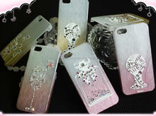 DIY personalize custom crystal bling mobile phone case