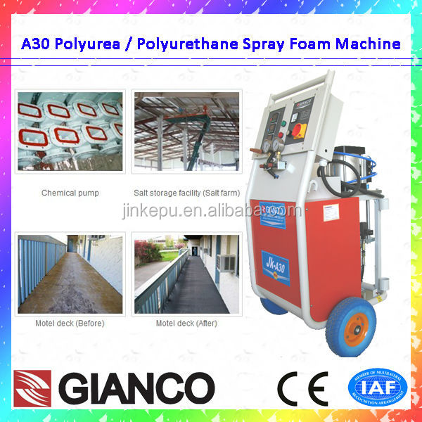 2016 PU Spray Foam Machine CE Certification Polyurethane Rigid Insulation Board
