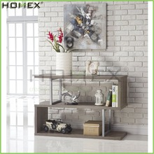 Wood Console Sofa Table Bookcase Bookshelf Display Cabinet/Homex_FSC/BSCI Factory