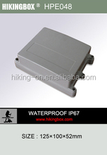 IP67 cable gland electronics enclosures/OEM Custom plastic electronic enclosure Box HPE048