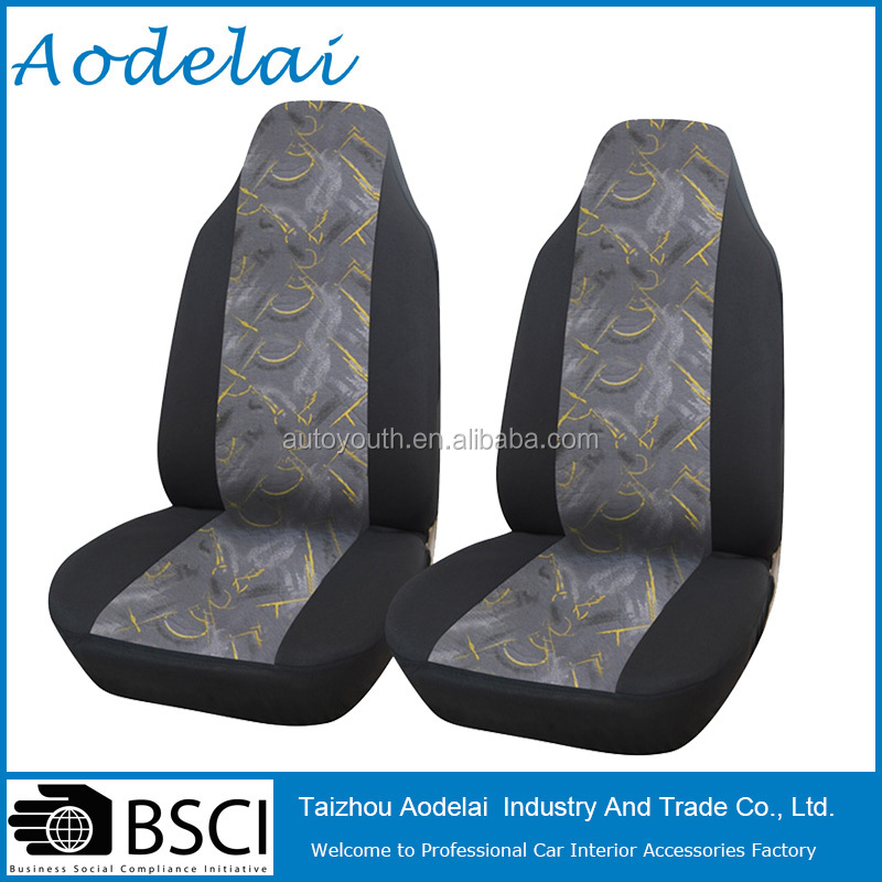 Fashion Embroidered adult car seat Universal Interior Accessories Seat Covers