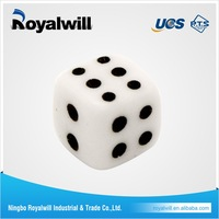 New Design Round Corner Professional Casino Game Plastic Dice