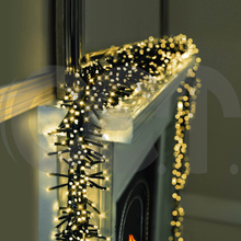CET New Products LED USB Christmas Outdoor Decorations Cluster Light