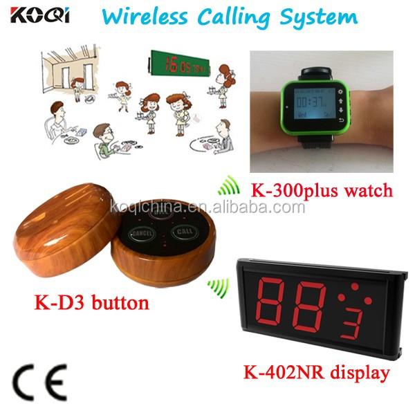 K-402NR+K-300plus green+K-D3 Wireless Waiter Call System.jpg