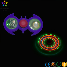 LED dedo SPINNER juguete con luces hasta interruptor reductor