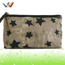 Fashion shiny cosmetic bag with star dot