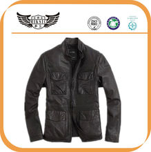 Leisure Newest Fashion Lamb skin men leather Garment