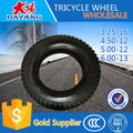 high quality hot sale china tricycle tyre in india 6.0-12/4.50-12/5.00-12