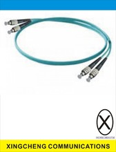 Indoor 10Gbs OM3 50 /125um FC Duplex Multimode fiber optic patch cable or jumper