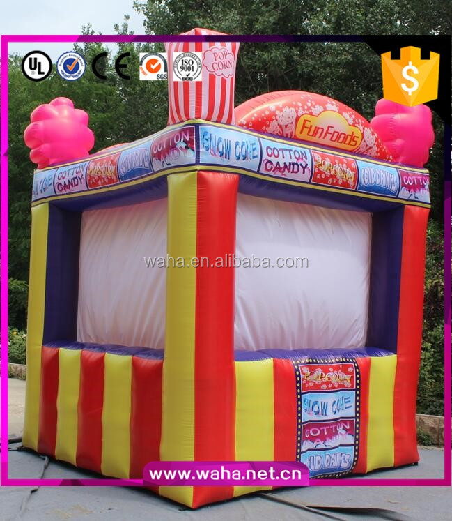 outdoor promotional inflatable spray booth for sale