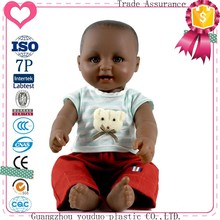 Eco-Friendly Low Price Dolls For Kids Like Real Doll Black Baby Doll H-5