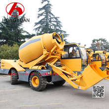 Exceptional low cost type mixed 3.5m3 drum self load concrete mixer truck on sale