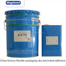 China factory flexible packaging dry laminated adhesive