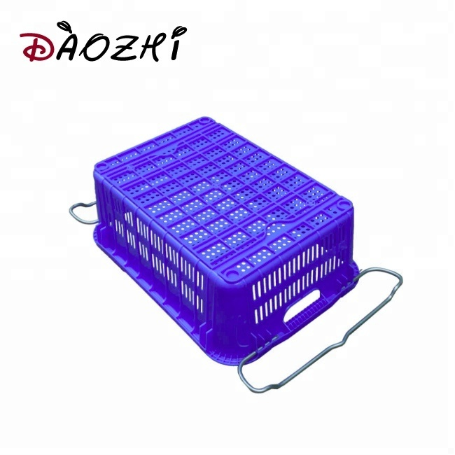 folding plastic bread crate