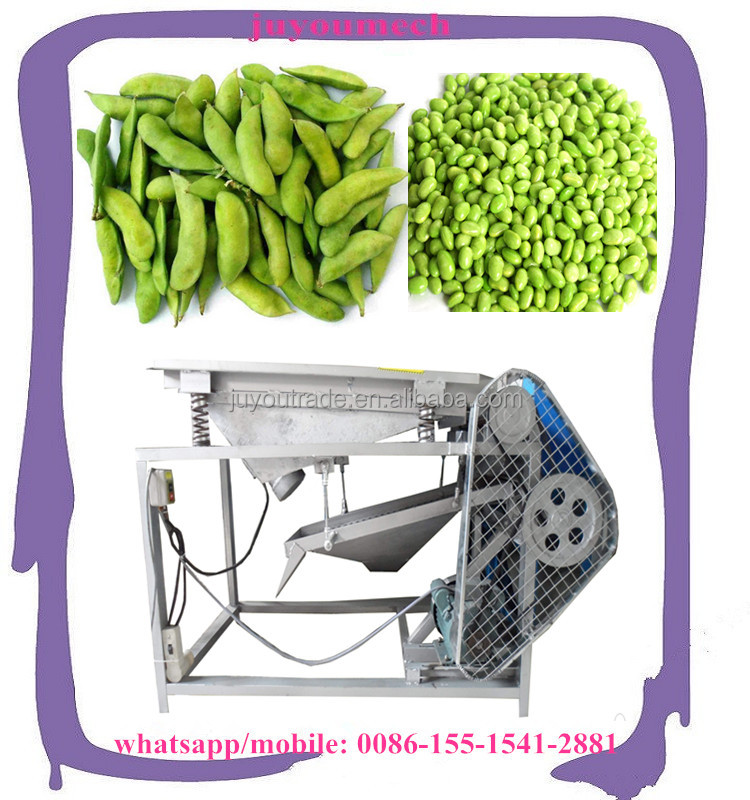 Hot selling pigeon peas sheller/Green beans peeling machine/Soybean shell removing machine for sale