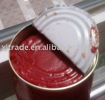 Canned (tinned) tomato paste