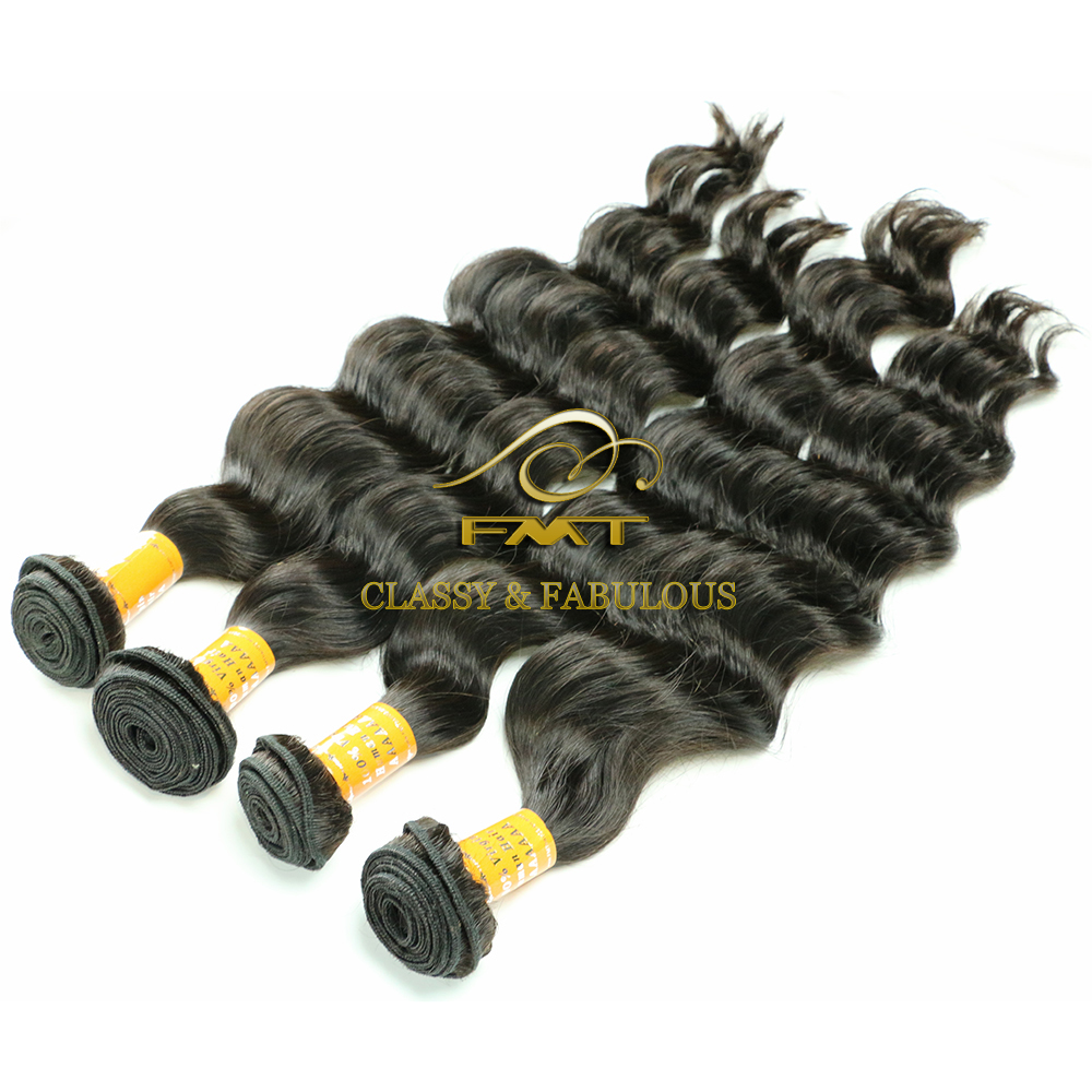 Best Selling Top Grade 9A Virgin Human Deep Wave Hair Extension, Yes Peruvian Human Hair Pieces