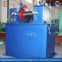XK-160 electricity heating mini rolling mill/good quality Lab rubber two roll mill
