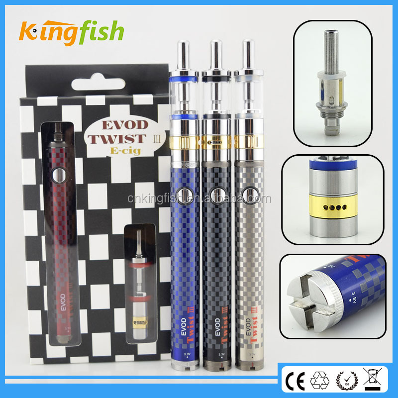 New starter kit airflow control evod twist 3 m16 cigarette making machine for china wholesale
